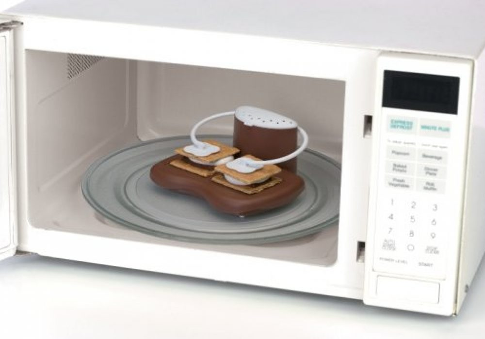 Microwavable SMores Maker White Microwave
