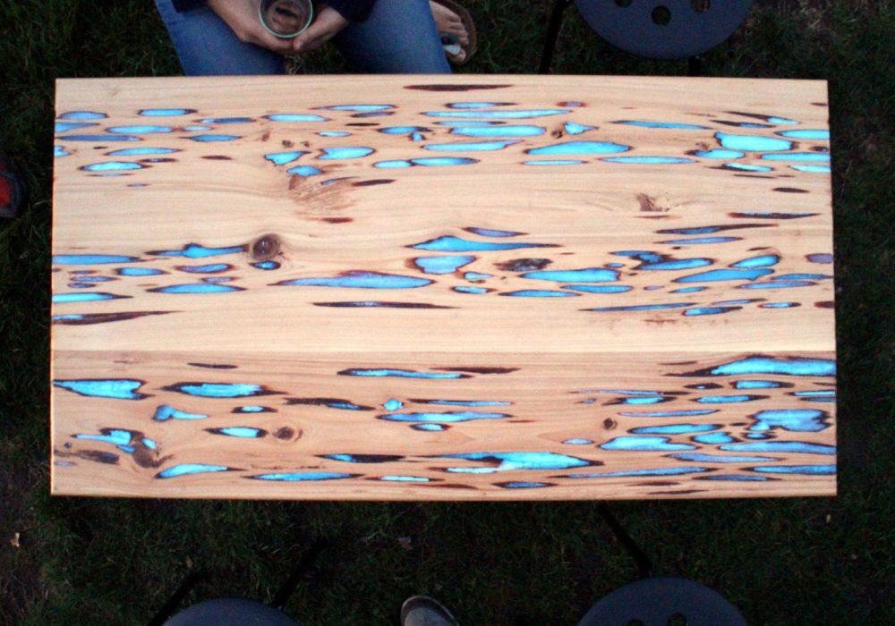 Mikeasaurus Glow Table Unique Gift Idea