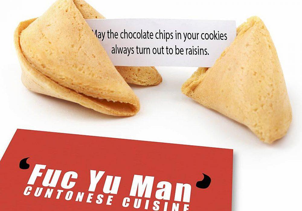 Mildly Evil Fortune Cookies Food