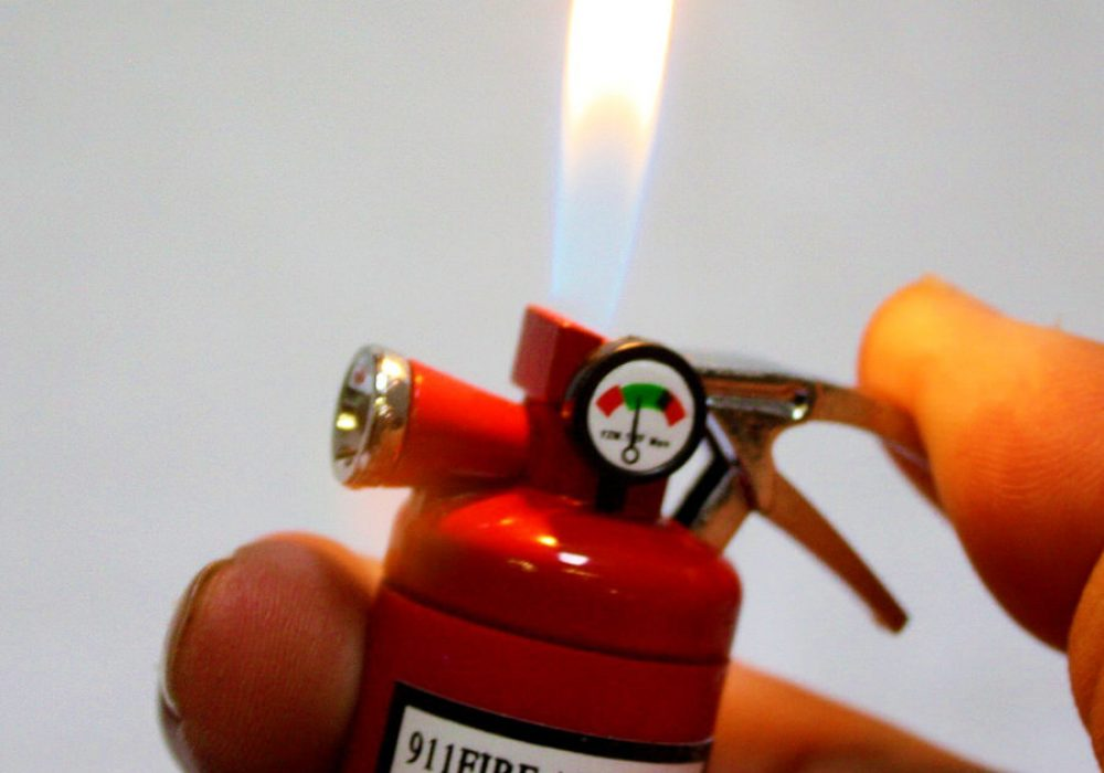 Mini Fire Extinguisher Lighter Cool Stuff to Buy Him