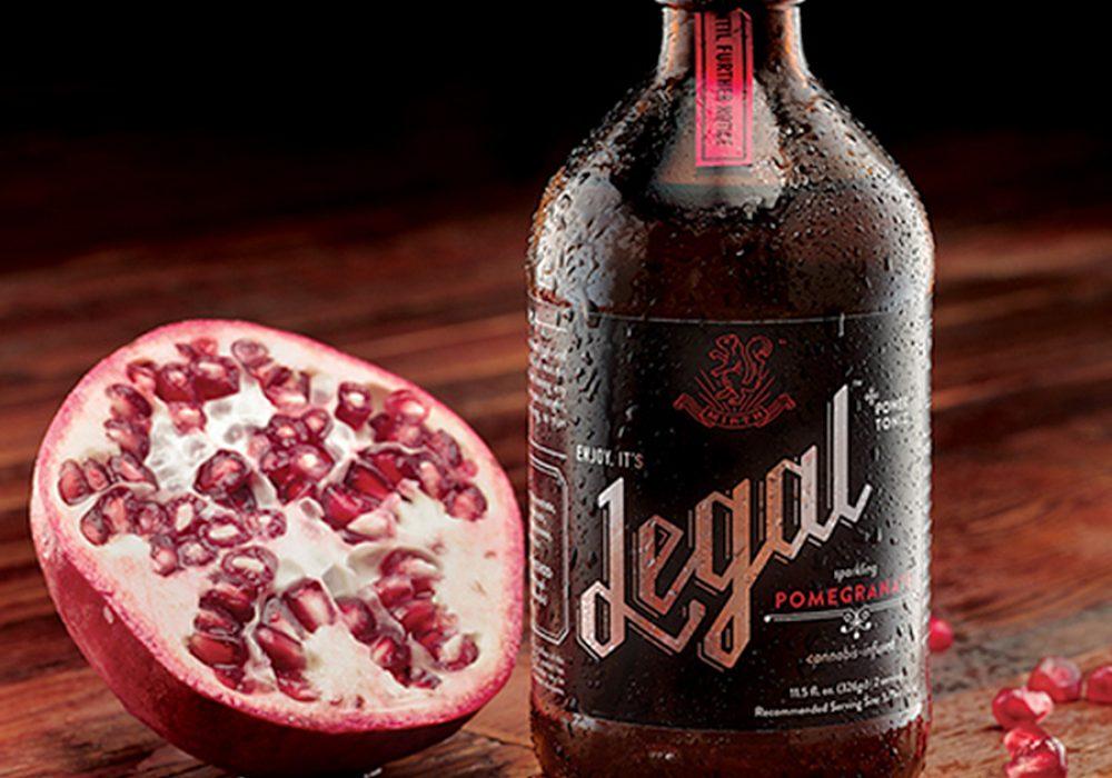 Mirth Legal Cannabis Tonic Real Pomegranate Juice