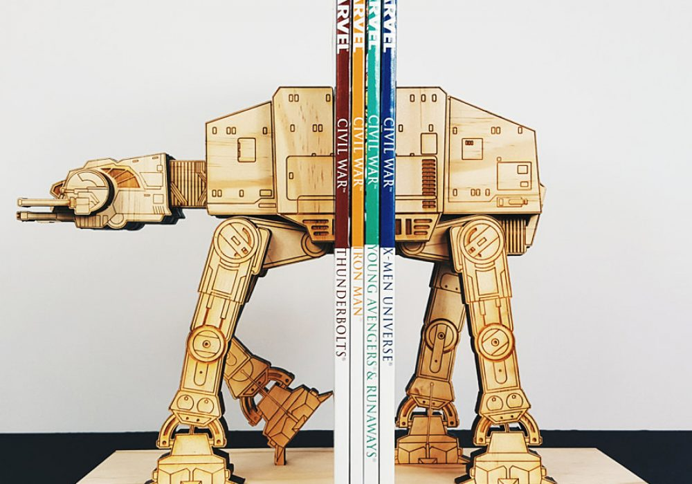 Moku Shop Star Wars AT-AT Book Ends Gift Idea