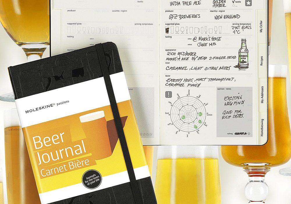 Moleskine Passions Beer Journal Nice Gift Idea