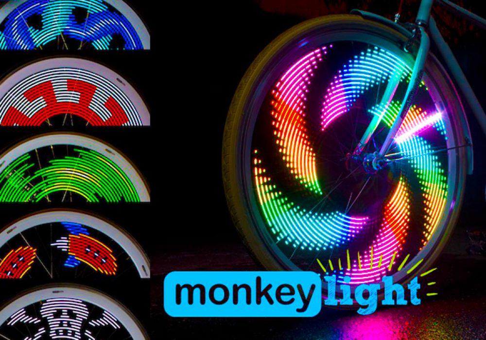 MonkeyLight Cool Bike Spoke Lights
