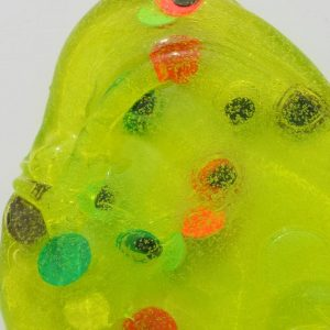 Monster Mash Clear Green Eyeball slime