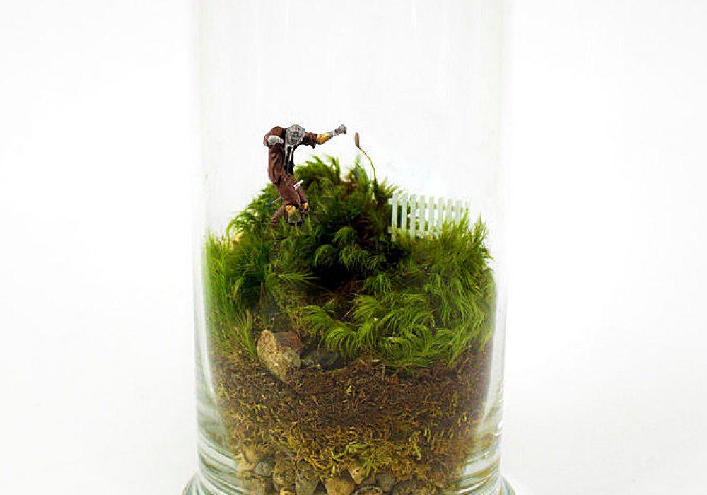 Moss Love Beware Tiny Zombie Terrarium Boyfriend Gift Idea