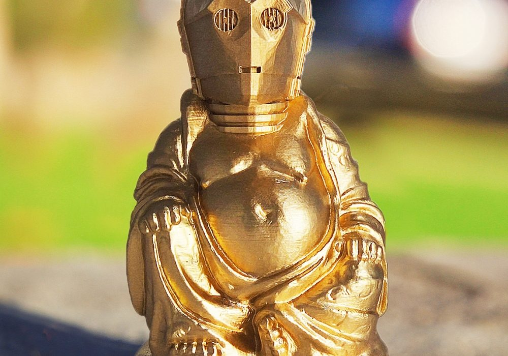 Muckychris Star Wars Zen Buddha Statues Gift Idea For Him