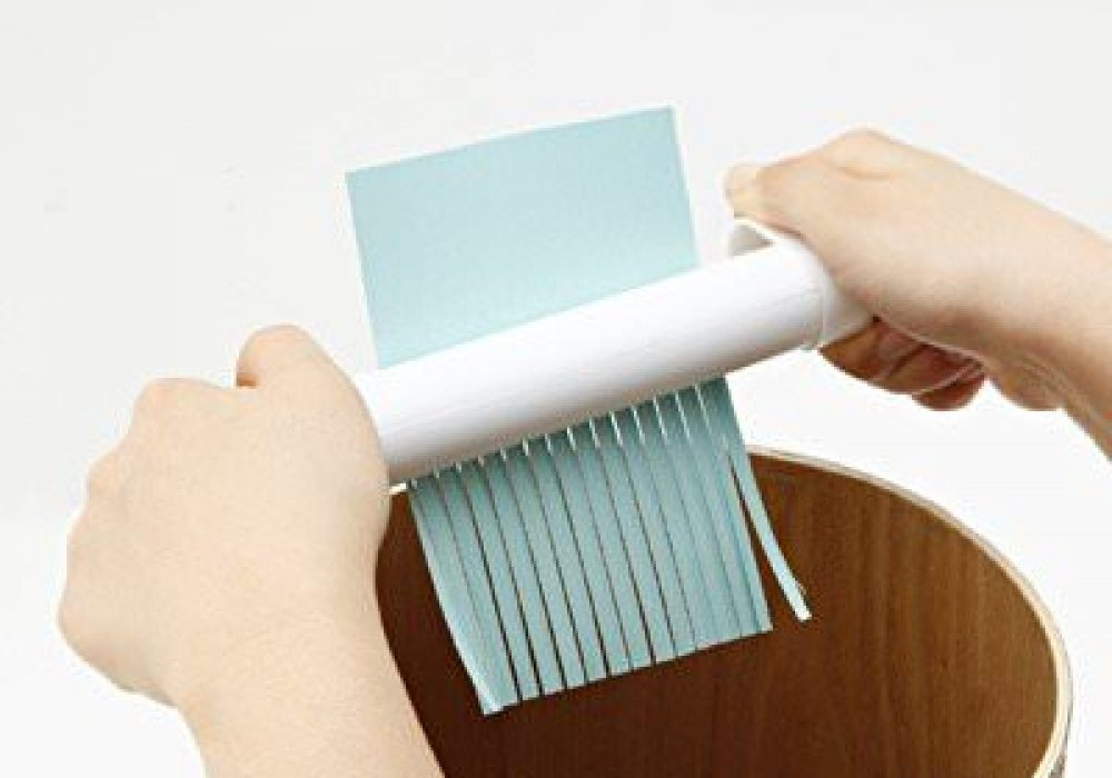Muji Handy Paper Shredder Novelty Item