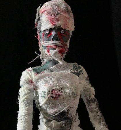 Mummy Zombie Barbie Doll