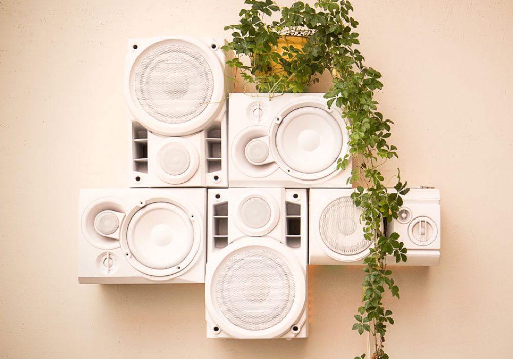 Musical Furnishings Modular HiFi Wall Sculpture Buy Dorm Room Fixture