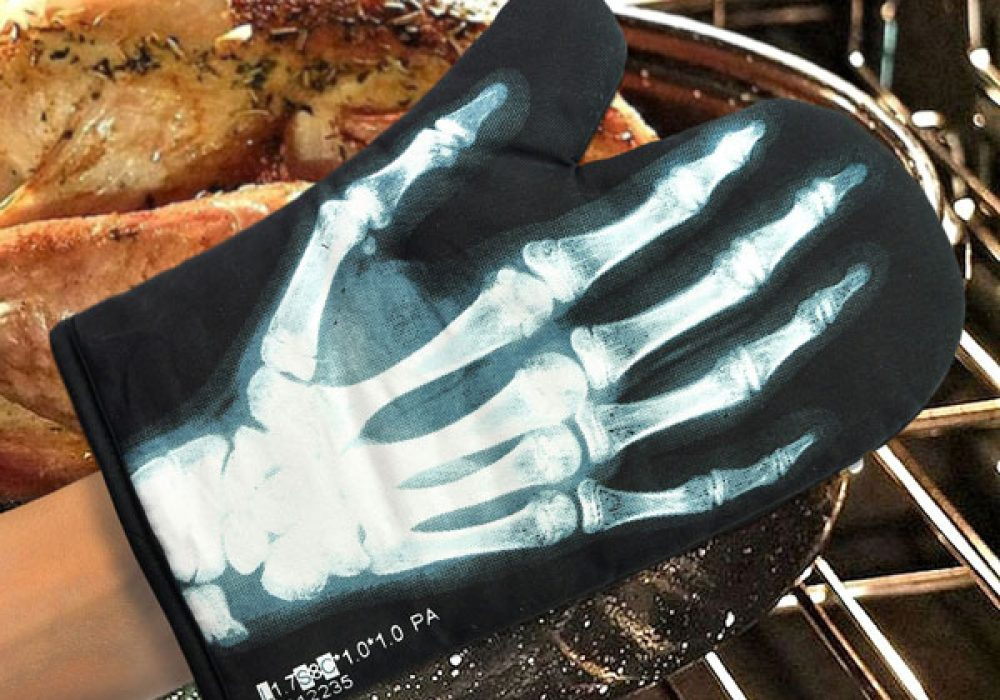 Mustard X-Ray Glove Dad Gift Idea