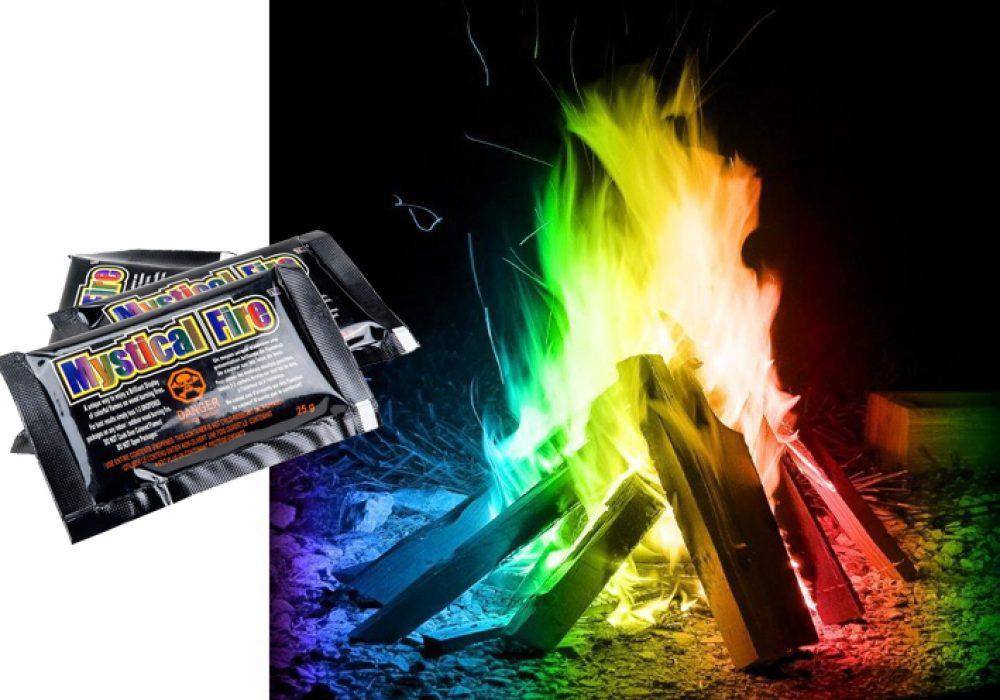 Mystical Fire Rainbow Camp Colors