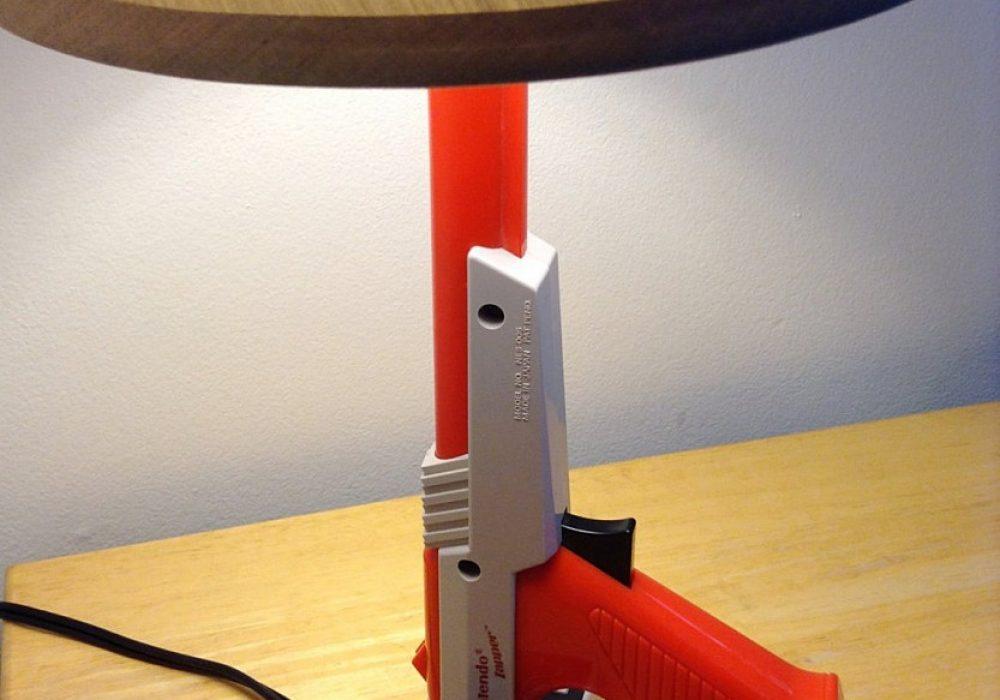 NES Zapper Gun Desk Lamp Cool Unique Gift to Buy for Kids