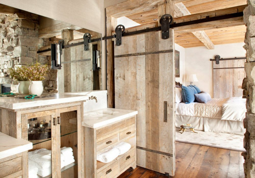 NW Artisan Hardware Vintage-Plate Sliding Barn Door Kit Improve your Home
