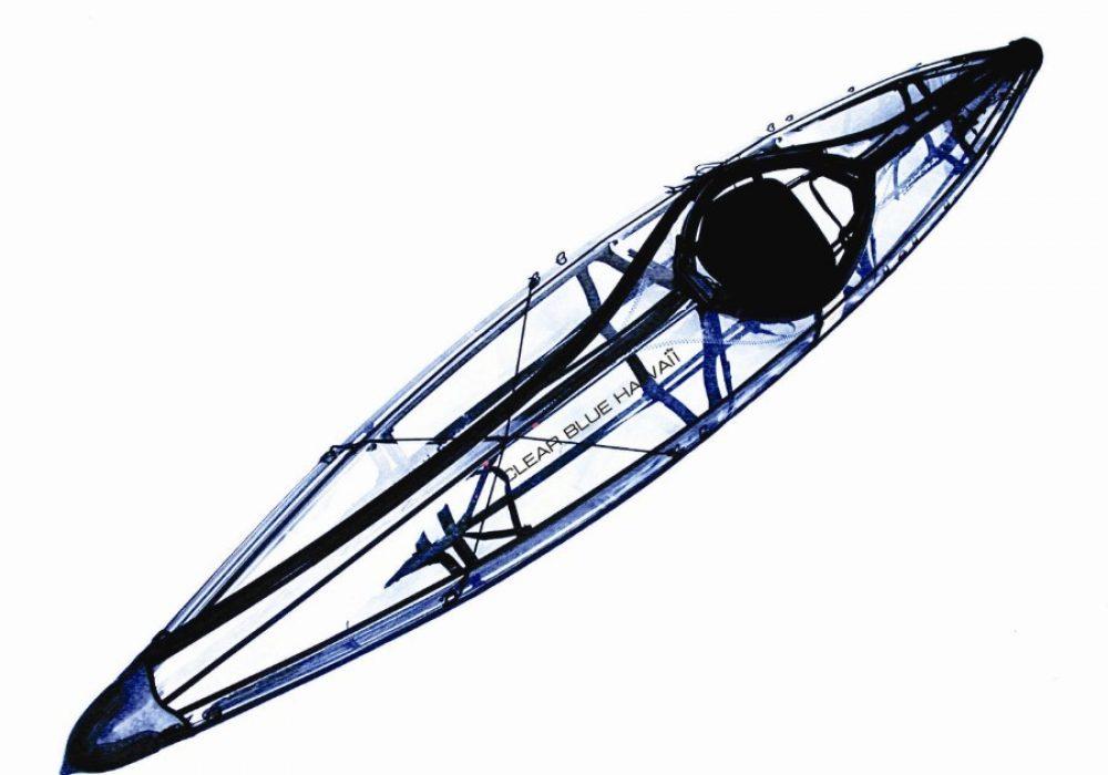 Napali Foldable Clear Touring Kayak Military-grade Urethane Skin