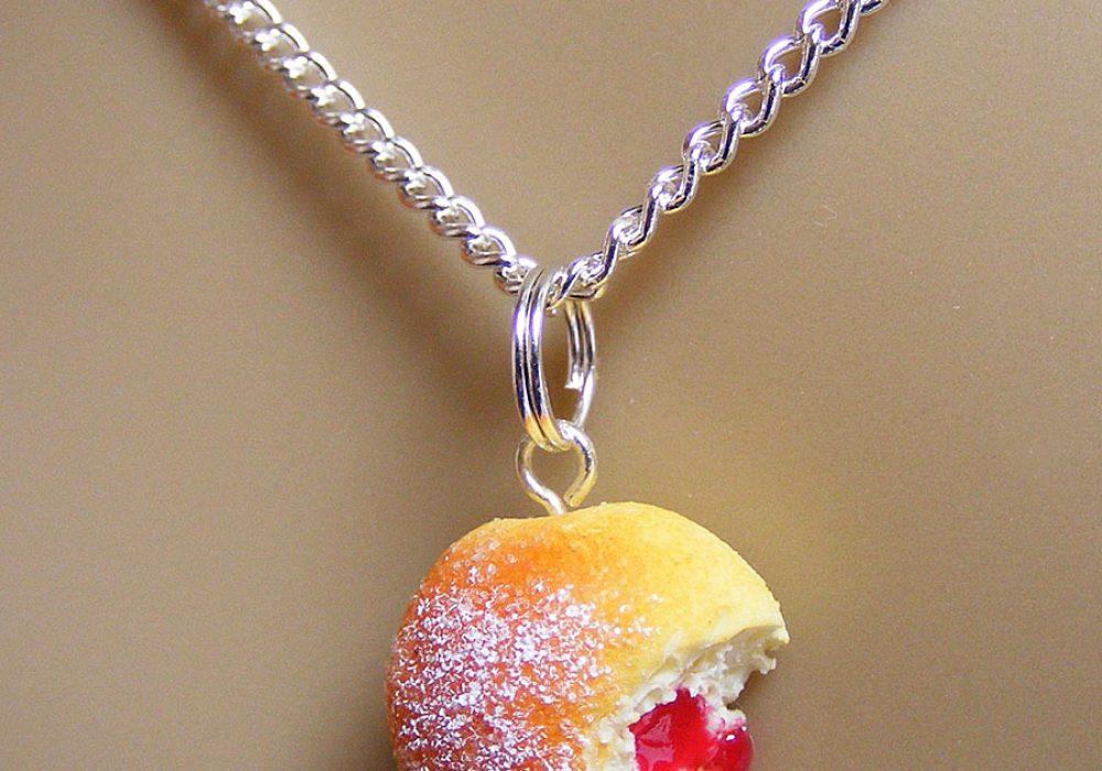 NeatEats Jelly Donut Necklace Accessory