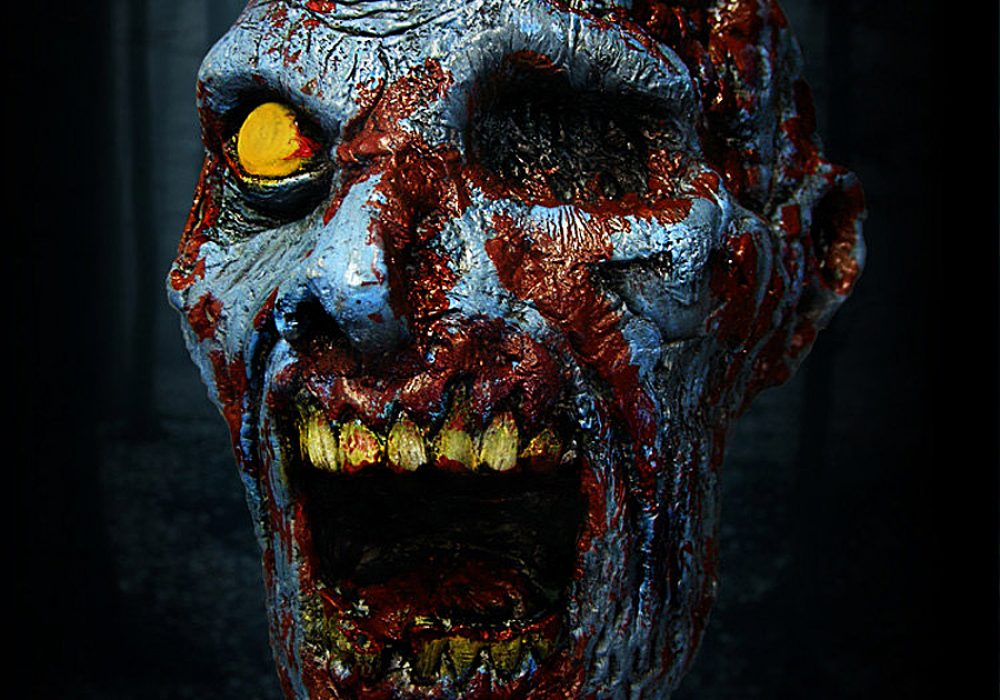 Nether Designs 3D Zombie Archery Targets Good for Air Soft Target