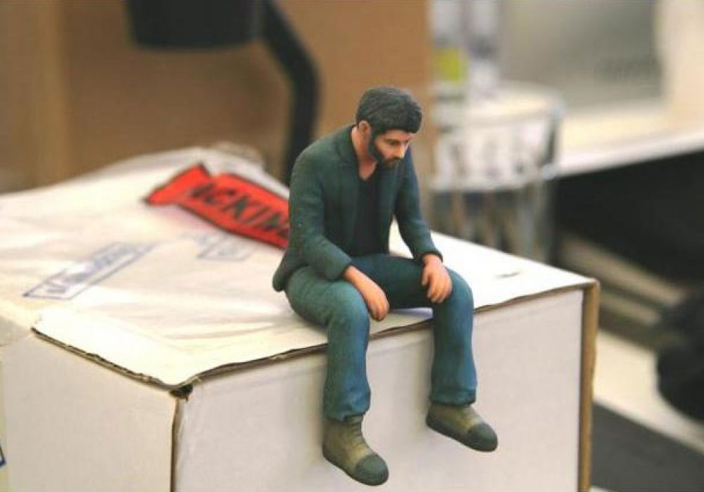 Neuralfirings A Little Sad Keanu Reeves Figure Cool Gift to Buy Her