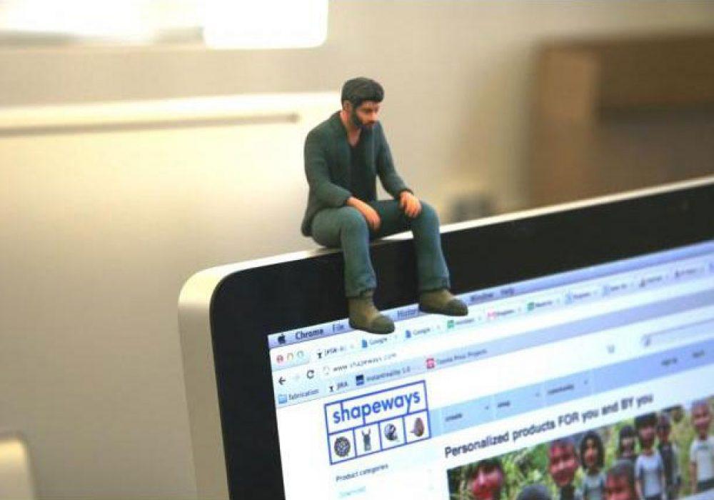 Neuralfirings A Little Sad Keanu Reeves Figure Unique Gift Idea for Fans
