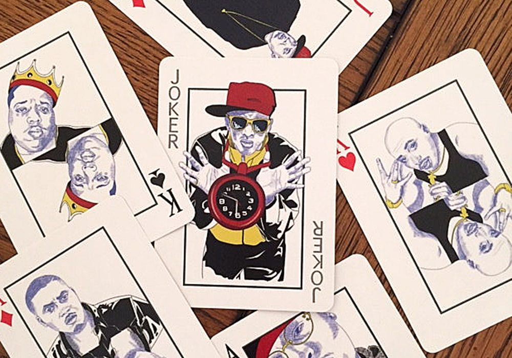 Nikara Montgomery Hip Hop Playing Cards Gift Idea for Fun