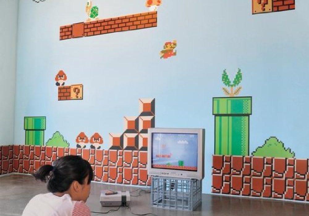 Nintendo Super Mario Bros. Wall Graphics Cool Geek Gift Idea