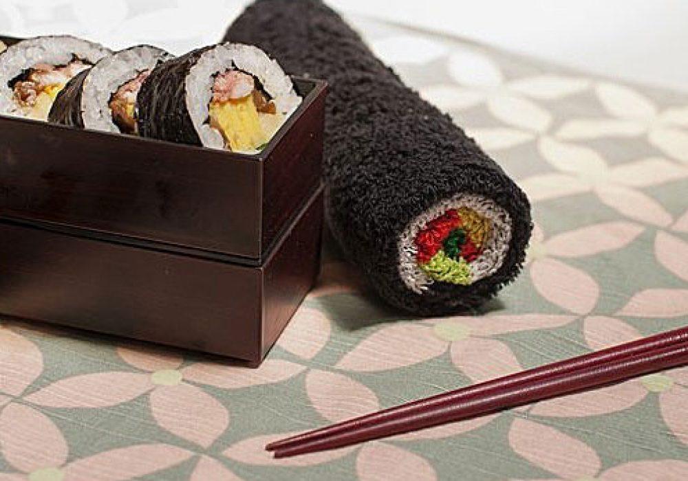 Norimaki Sushi Roll Towel Cool Japanese Product