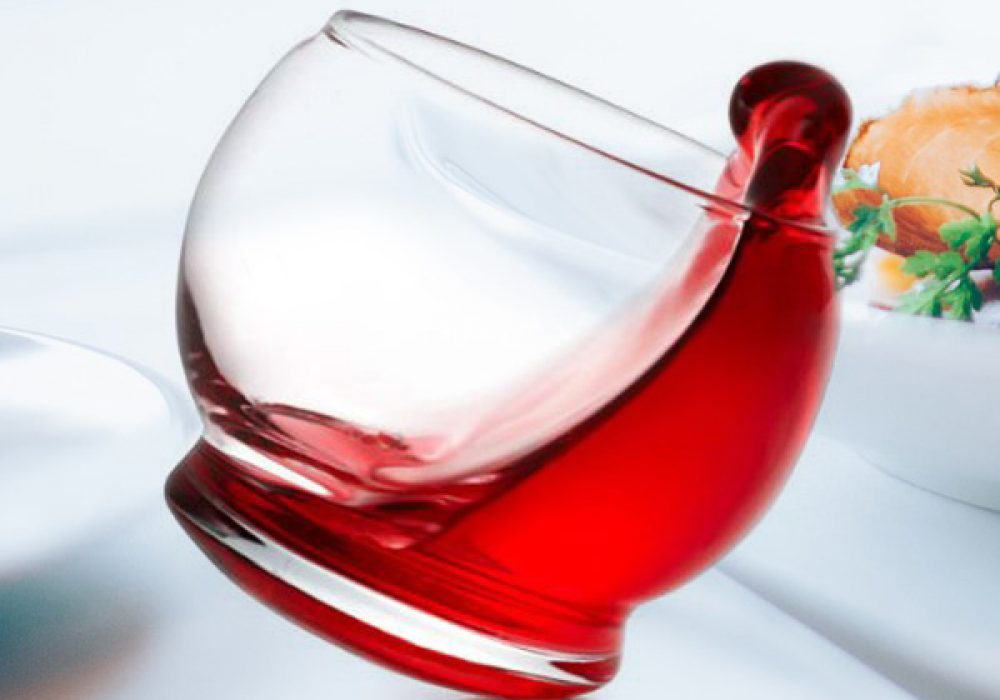 Normann Copenhagen Rocking Glasses Red Wine Cool Housewarming Gift to Buy