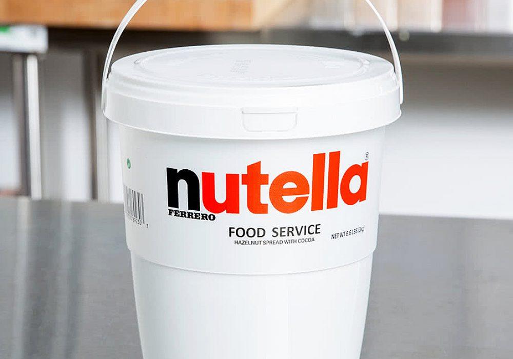Nutella Hazelnut Spread 6.6 lb. Tub Bucket