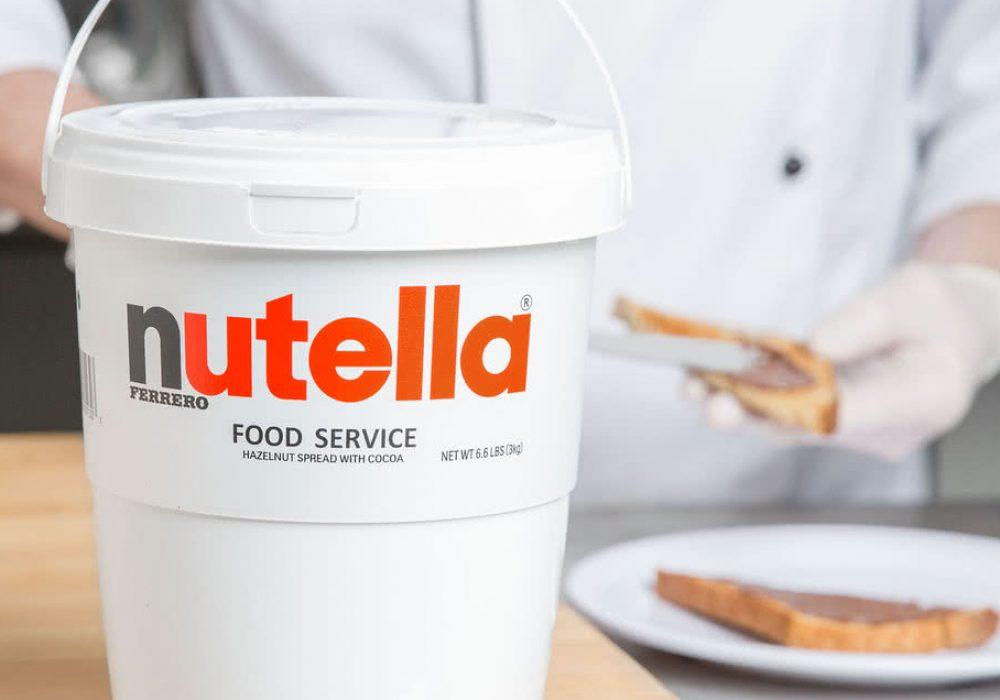 Nutella Hazelnut Spread 6.6 lb. Tub Chocolates