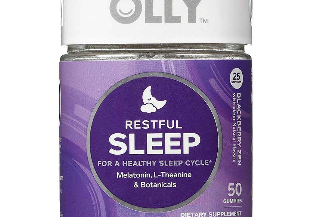 OLLY Restful Sleep Gummy Supplements Relaxant