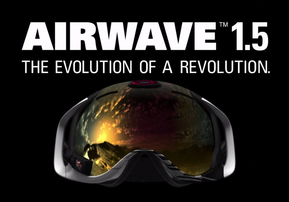 Oakley Airwave GPS Goggles Hi Tech Snow Sport Accessory