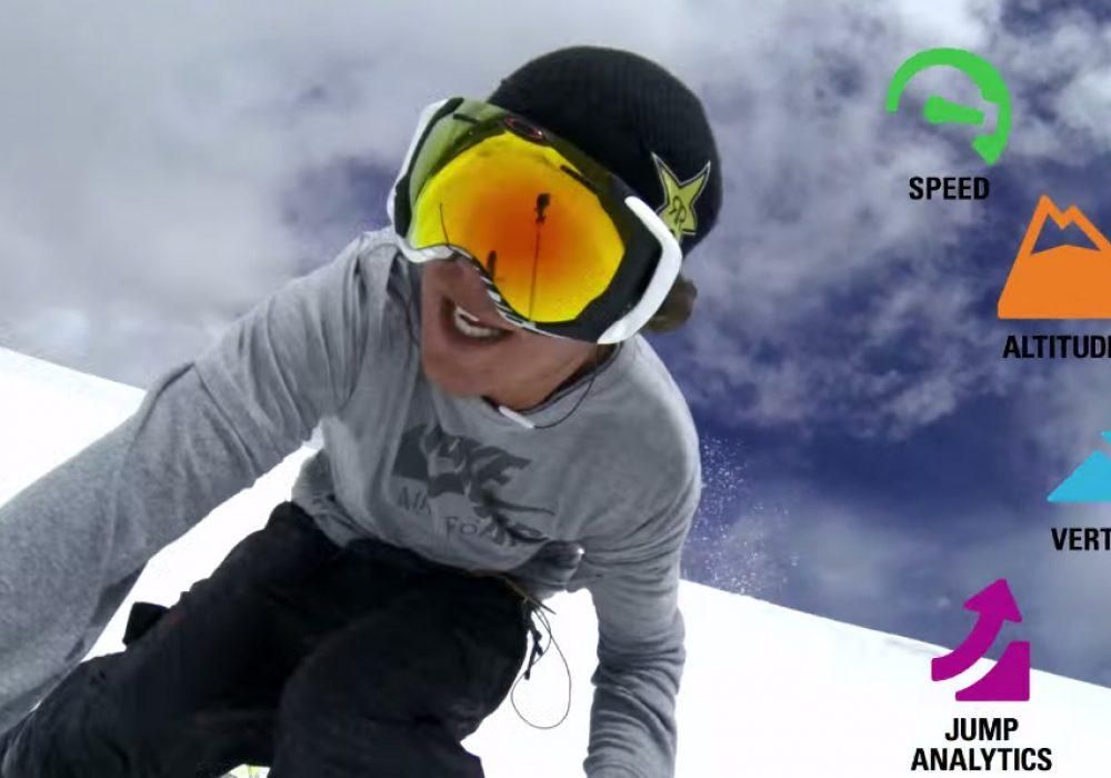 Oakley Airwave GPS Goggles Snow Sport Tech