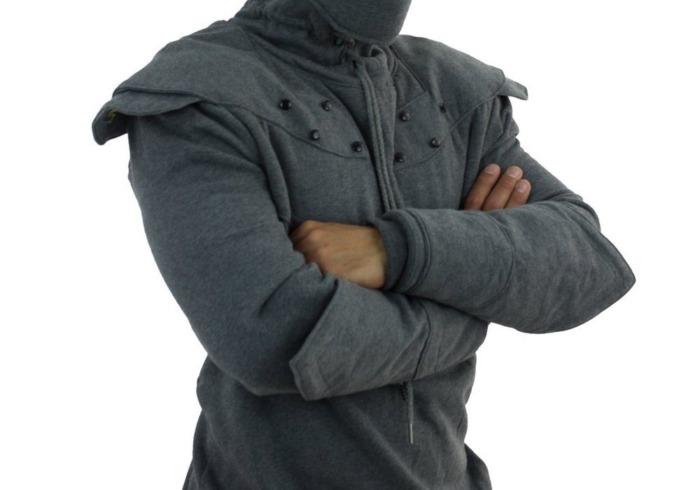 Official Knight Hoodie Stormy gray