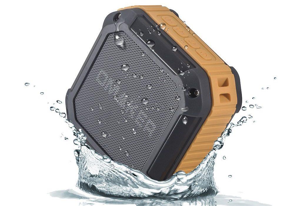 Omaker M3 Portable Bluetooth Shower Speaker Rugged Technology