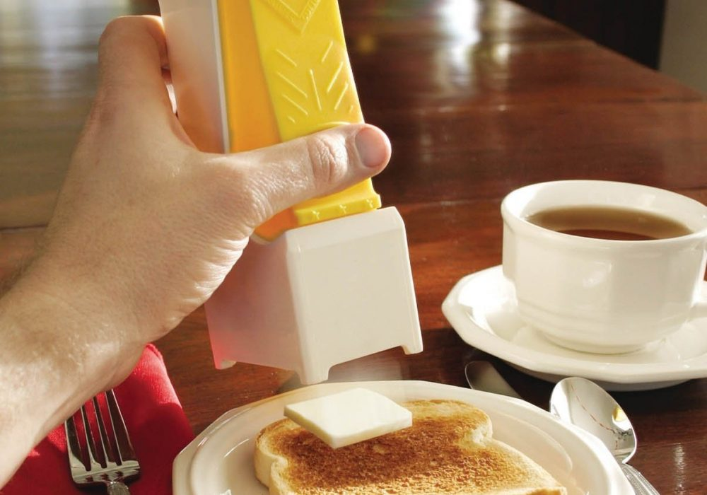 One Click Butter Cutter Toasted Bread
