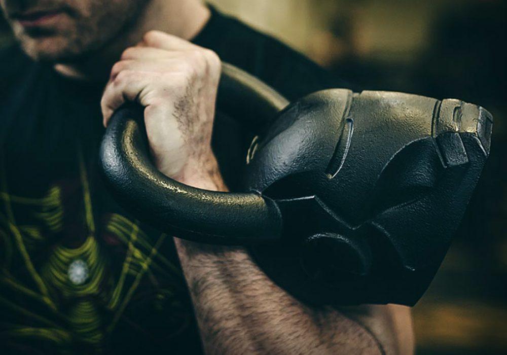 Onnit Marvel Hero Elite Iron Man Kettlebell Strength Builder