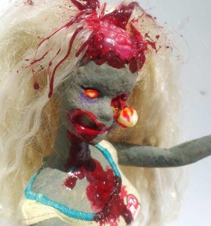 Open Brain Decayed Z-Barbie