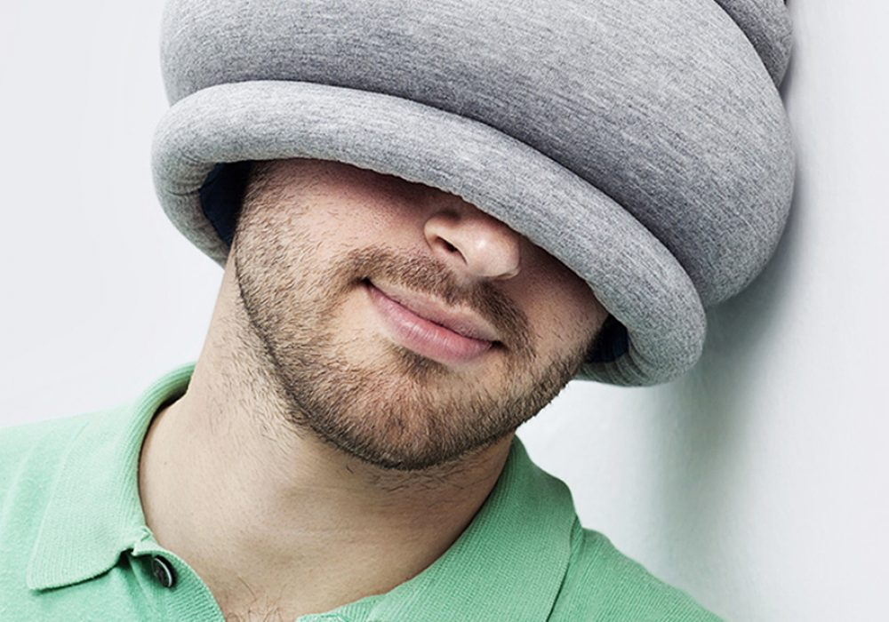 Ostrich Pillow Light Pillow Eye Mask