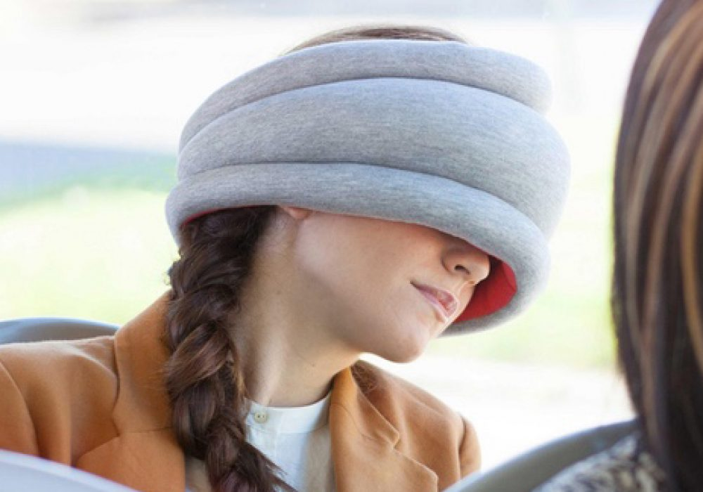 Ostrich Pillow Light Pillow Weird Stuff to Buy
