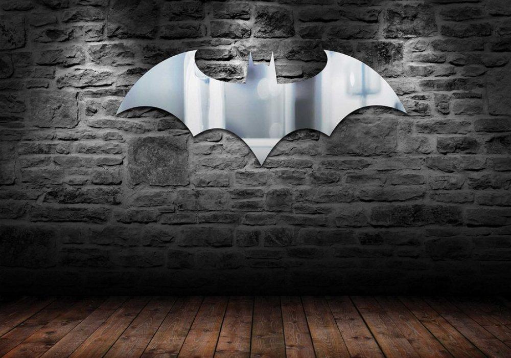 Paladone Batman Logo Mirror Cool Mancave Fixture