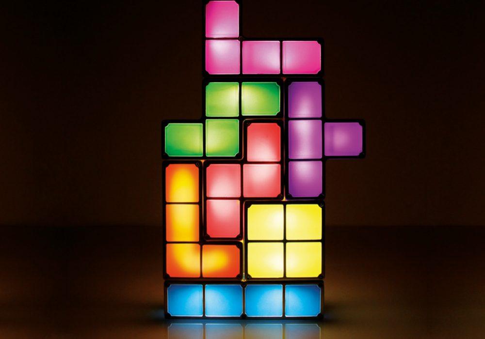 Paladone Tetris Light Desk Lamp Cool Stuff to Buy