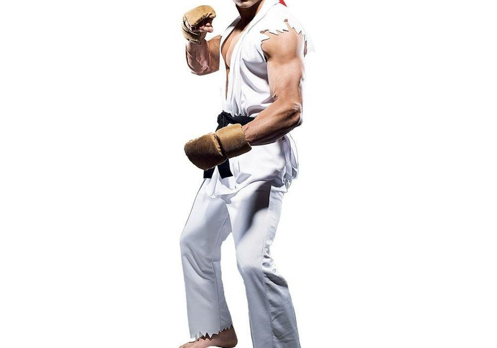 Paper Magic Street Fighter Ryu Costume Game Character Theme