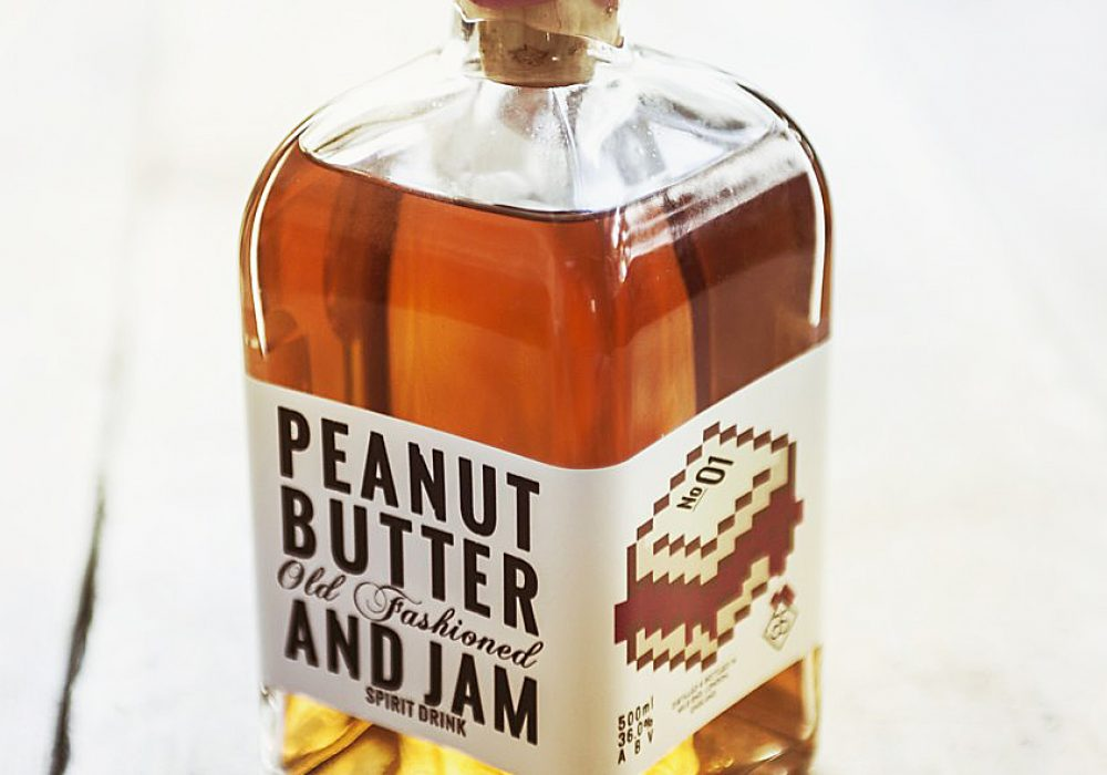 Peanut Butter and Jam Old Fashioned Spirit Drink Buy Vintage Beverage