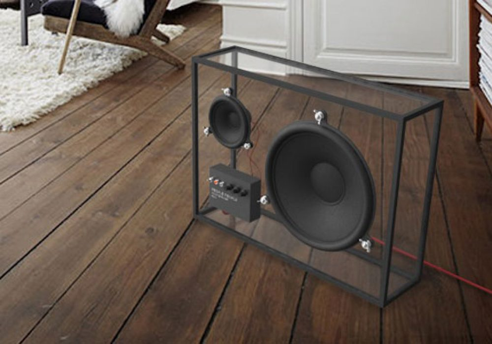 People People Transparent Speaker Cool Gadget to Buy