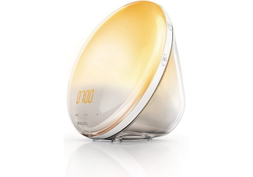 Philips HF3520 Wake-Up Light Colored Sunrise Simulation Cool Gift Idea For Him