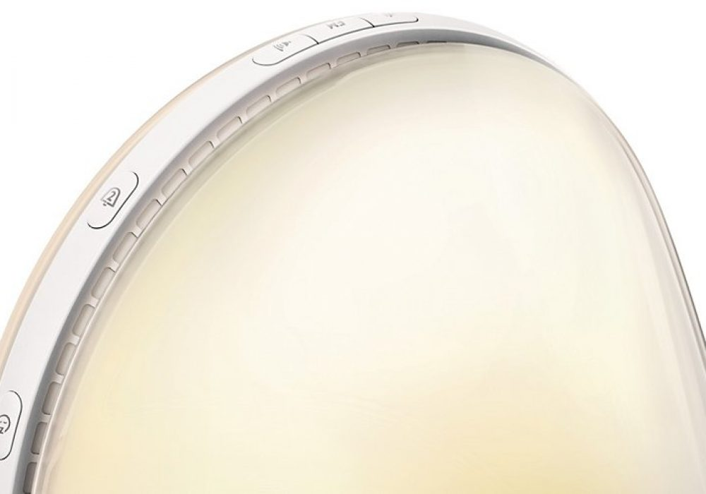 Philips HF3520 Wake-Up Light Colored Sunrise Simulation Upper Controls