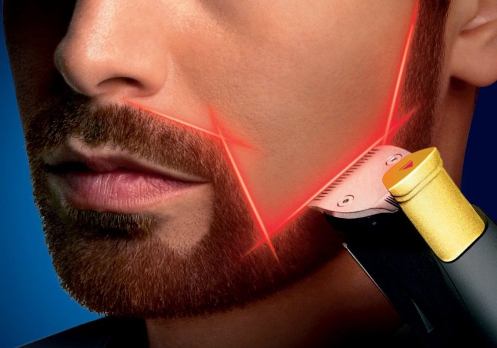 Philips Norelco BeardTrimmer 9100 with Laser Guide Cool Gift to Buy for Him