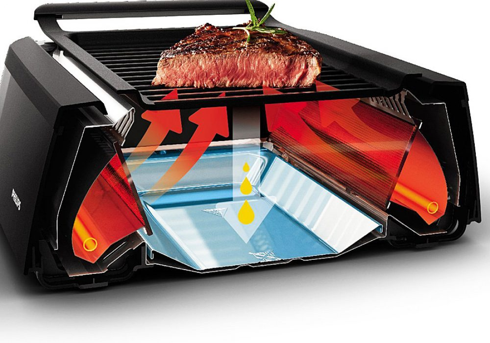 Philips Smoke-less Indoor Grill Easy to Prepare
