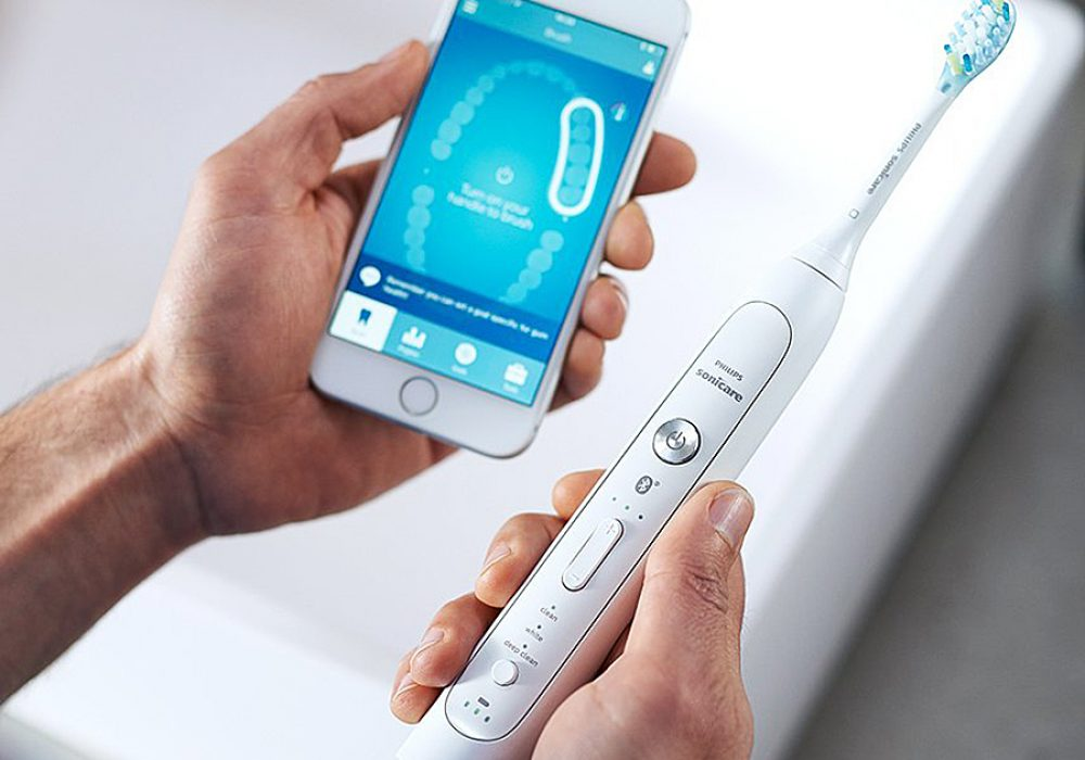 Philips Sonicare Flexcare Platinum Toothbrush Smart Phone