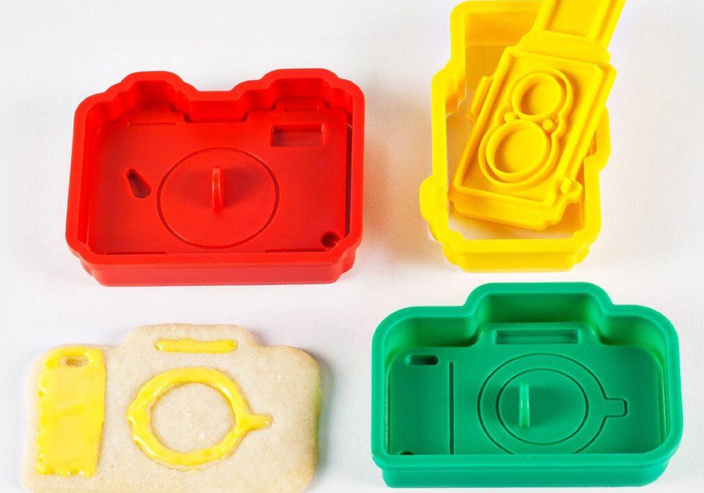 Photojojo Camera Cookie Cutter Set Fun Kitchen Tool